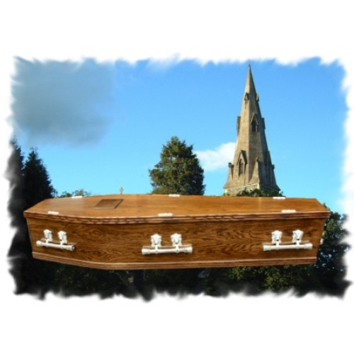 Solid Oak Coffin - Handmade to the finest quality